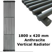 Grey Vertical Radiator