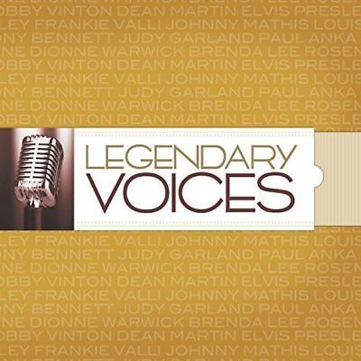 "Various Artists ""Legendary Voices"" 10 CD Box Set Time Life"