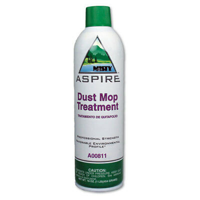 Aspire Dust Mop Treatment, Lemon Scent, 20 oz. Aerosol Can, 12/Carton