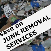 Spring Cleaning SPECIAL = SAVE up to 50% off JUNK REMOVAL