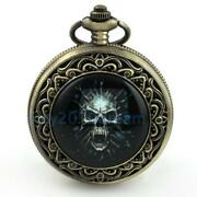 Skull Pocket Watch
