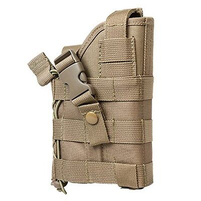 NcStar Vism Tactical Ambidextrous Modular MOLLE Pistol Handgun Holster Tan