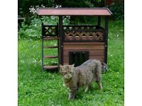 Wooden Cat/Rabbit/Dog House