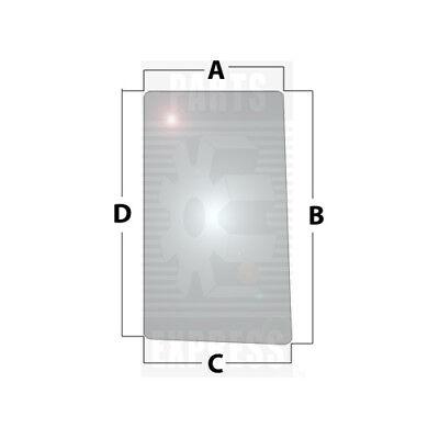 John Deere Rh Side Glass Part Wn-r96193 On Tractor 7200 7210 7400 7410 7510 7600