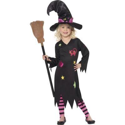 Halloween Kinder Kostüm Asche Hexe - Asche Kostüm