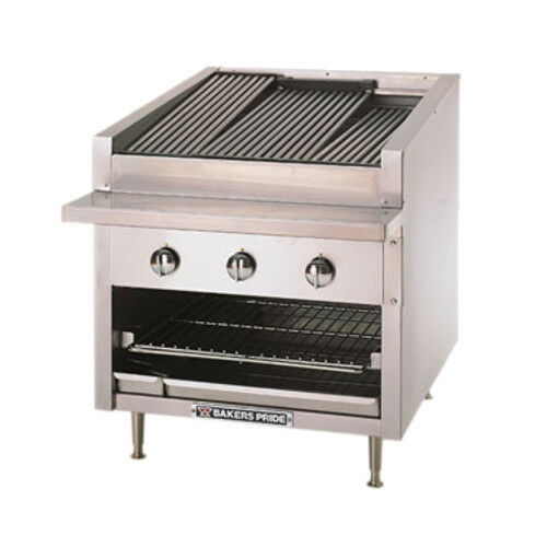 "Bakers Pride C-24r 24"" Wide Gas Countertop Charbroiler"