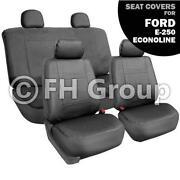 Ford E250 Seats