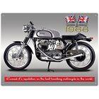 Motorbike Metal Decorative Plaques & Signs