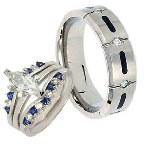 titanium wedding ring sets - Titanium Wedding Ring Sets