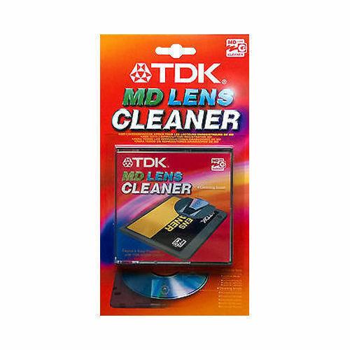 TDK MD MINIDISC Lens Cleaner