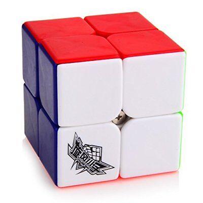 Cyclone Boys Pawpaw 2 Magic Cubes Stickerless 2x2x2 Speed Cube Puzzle Twist