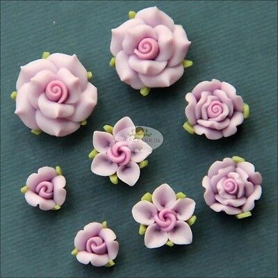 Sugarcraft Molds Polymer Clay Molds Cake Decorating Tools / flower set mold