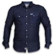 Mens Slim Fit Denim Shirt