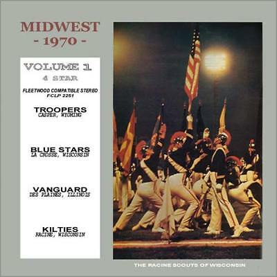 1970 Midwest 1 Drum Corps Cd  Casper Troopers   Blue Stars  Kilties  Des Plains