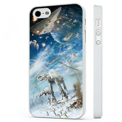Star Wars Space Battle Epic WHITE PHONE CASE COVER fits iPHONE