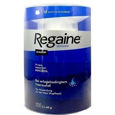 REGAINE Maenner Schaum 5 % 3x60 ml PZN: 9100275 (30,53 pro 100 ml)