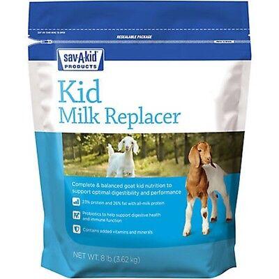 Milk Products Sav-a-kid Kid Milk Replacer 8lb Bag