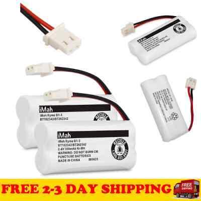 2 X Cordless Phone Batteries B1-3 BT162342 BT262342 for Vtech BT-1018 Battery... 2 X Phone Battery