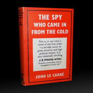THE SPY WHO CAME IN FROM THE COLD by John Le Carre 1964 Edition