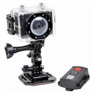 Astak ActionPro CM-7200 1080p HD 5MP Sports Action Waterproof Camera