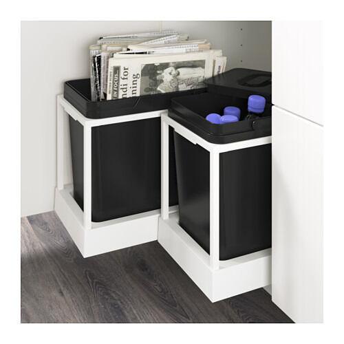 Kitchen Shelf Gumtree: 2 Ikea Utrusta Pull Out Waste Sorting Trays