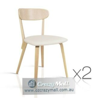 Plywood Base 2x High Density Foam Filled Seat Dining Chairs