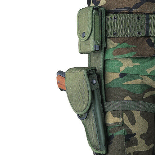 Bianchi 15141 Olive Drab Tactical Hip Extender For M12 UM84 UM92 Holsters