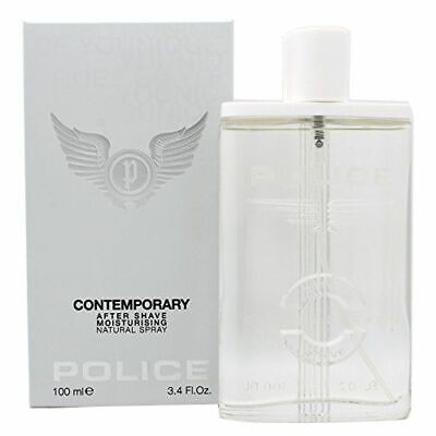 POLICE CONTEMPORARY AFTERSHAVE MOISTURISING 100ML SPRAY BRAND NEW & BOXED