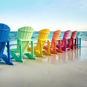 CR Plastics Adirondack Chairs!