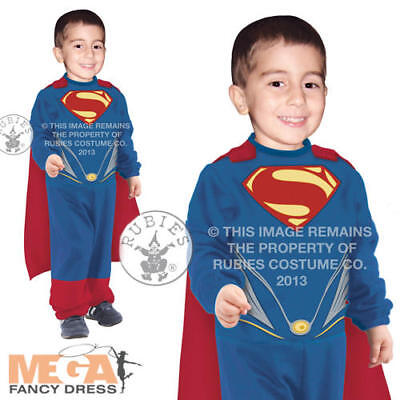 Toddler Superman 0-2 Tiny Tikes Man of Steel Boys Fancy Dress Superhero - Man Of Steel Toddler Costume