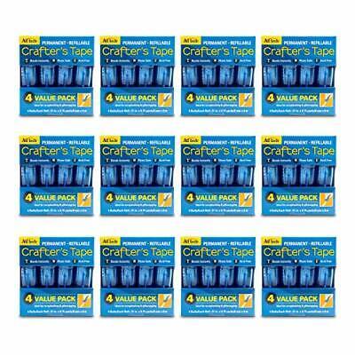 AdTech 05603-CASE Permanent Crafter's Tape, Bulk Scrapbooking Glue Runners, 48 C, usado comprar usado  Enviando para Brazil