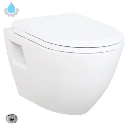 Hänge Dusch WC Taharet Bidet Funktion Toilette Creavit Mit SoftClose Deckel