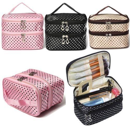 Kosmetik Schminktasche Kulturtasche Make Up Taschen Beauty-case Organizer Groß