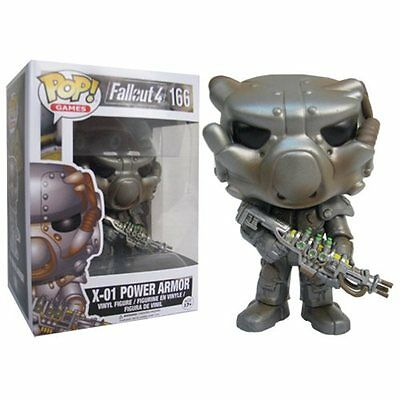 FUNKO POP 2017 GAMES FALLOUT 4 X-01 POWER ARMOR #166 Vinyl 3