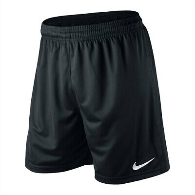 NIKE BLACK FOOTBALL SHORTS - MENS SMALL MEDIUM LARGE EXTRA LARGE S M L XL XXL