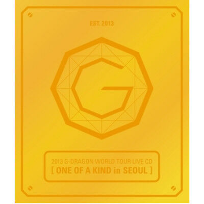 G-DRAGON ONE OF A KIND IN SEOUL 2013 WORLD TOUR LIVE CD+Booklet+Standing Paper