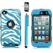 iPod Touch 4 Hard Case Blue