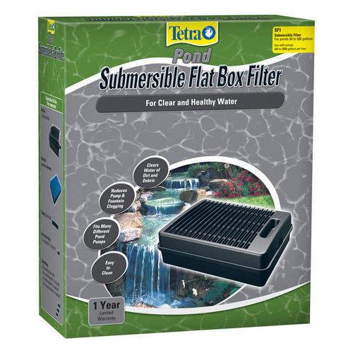 Tetra Pond Submersible Flat Box SF1 Pond Filter