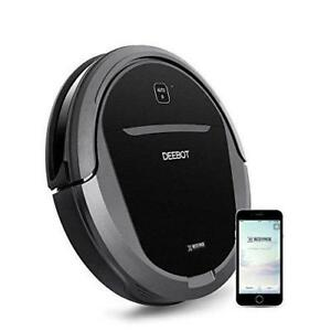 ECOVACS DEEBOT M81Pro Robotic Vacuum Cleaner with Strong Suction, for Pet Hair, Low-pile Carpet, Bare Floors, Wifi Conne