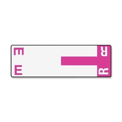 Smead 67156 Purple Alphaz Ncc Color-coded Name Label - E & R - 3.12
