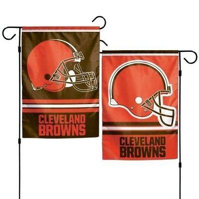 Cleveland Browns Wall Banner (CLEVELAND BROWNS TEAM GARDEN WALL FLAG BANNER 12