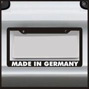 Euro License Plate Frame
