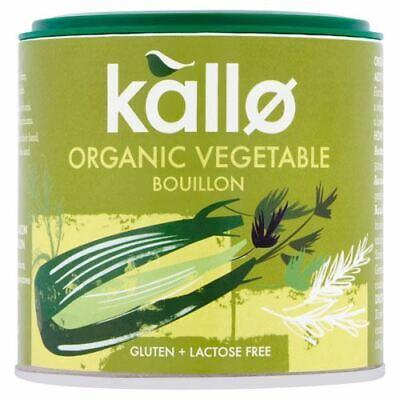 Kallo Vegetable Stock Powder - Organic - 100g - 81821