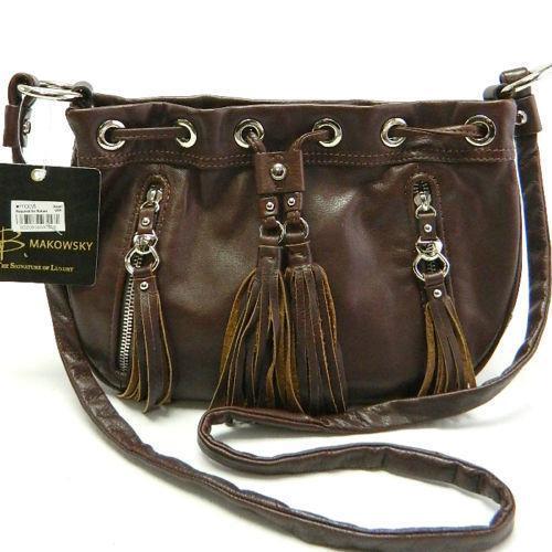 b makowsky handbag brandy handbags amp purses ebay