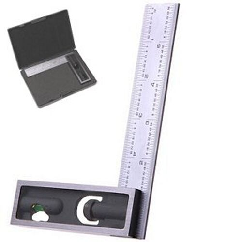 """6"""" High Precision DOUBLE SQUARE 4R Steel Blade Machinist Engineer Carpenter"""
