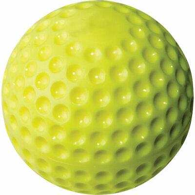 "Rawlings PMY11 11"" Yellow dimple pitching machine ball"
