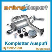 Frontera Auspuff