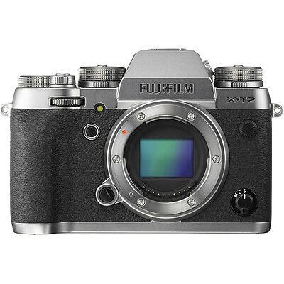 Fujifilm X-T2 Mirrorless Digital Camera - Graphite Silver Edition