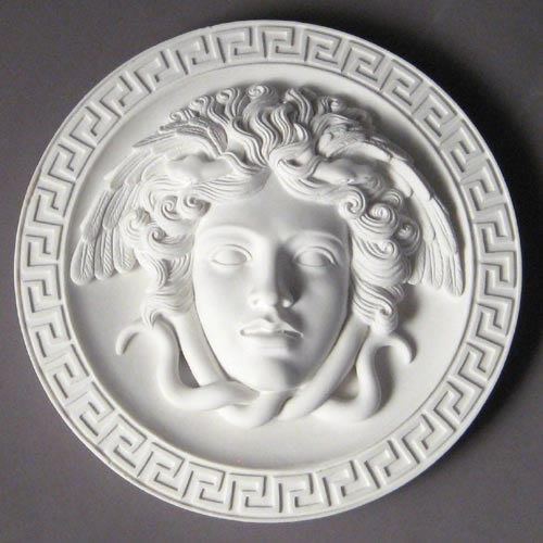 Medusa  Head Greek Wall Art Home Decor Plaque