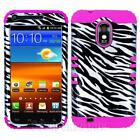 Sprint Samsung Galaxy s II Case Zebra